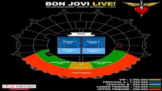 Ini Harga Tiket Konser Bon Jovi di Indonesia