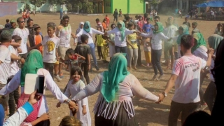 Jalan Sehat dan Color Run, Membuat Desa Balearjo Sehat dan Berwarna